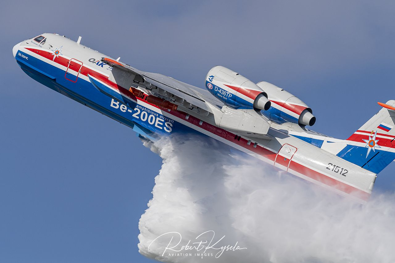 Beriev Be-200ES  -  © by Robert Kysela