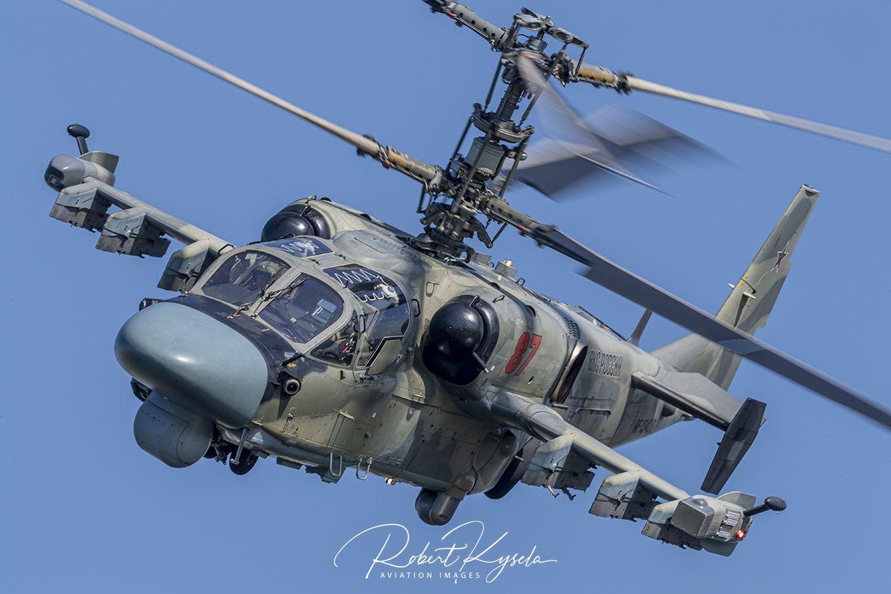 Kamov Ka-52 ALLIGATOR (NATO Code: HOKUM-B)  -  © by Robert Kysela