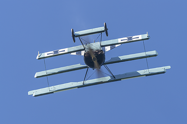 Fokker Dr.1 (Replica) - © by Robert Kysela