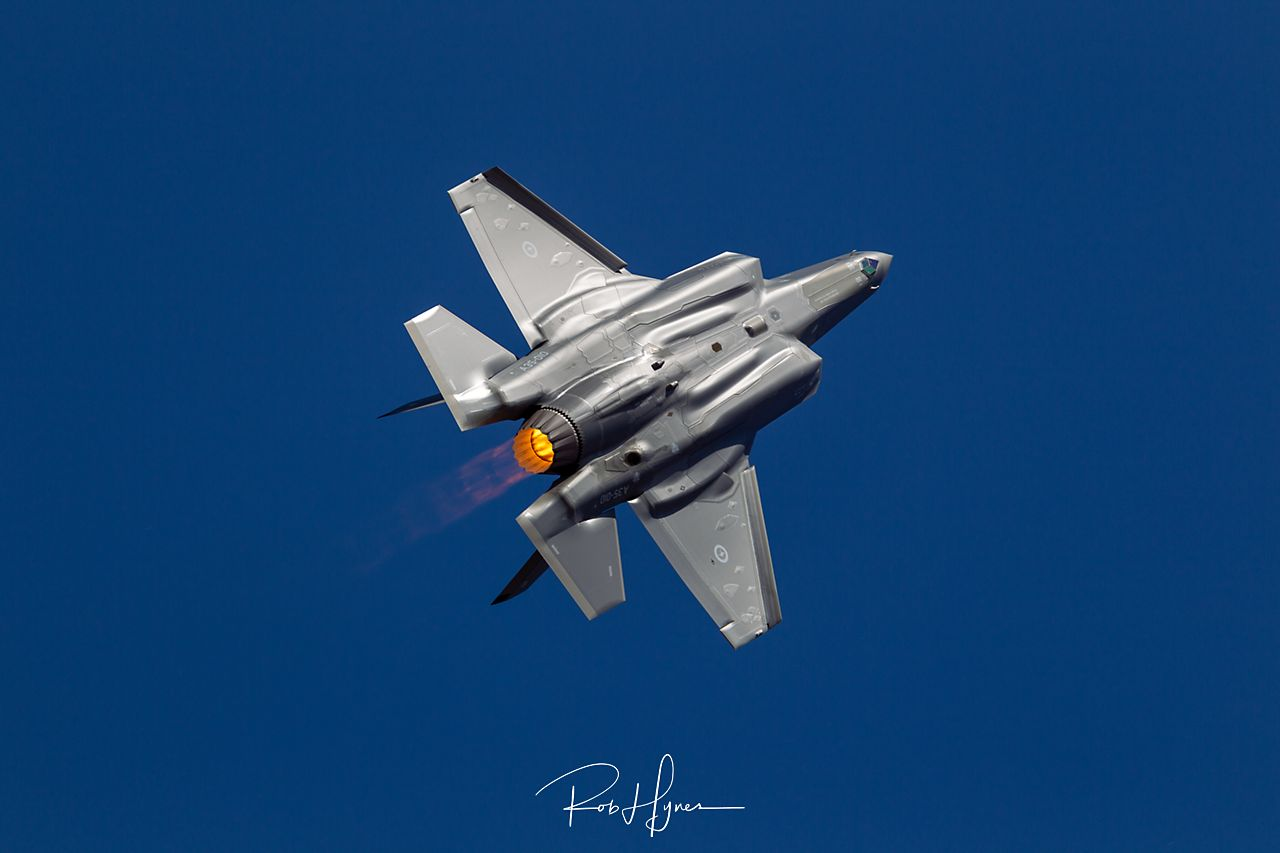 Lockheed Martin F-35A LIGHTNING II   - © by Rob Hynes