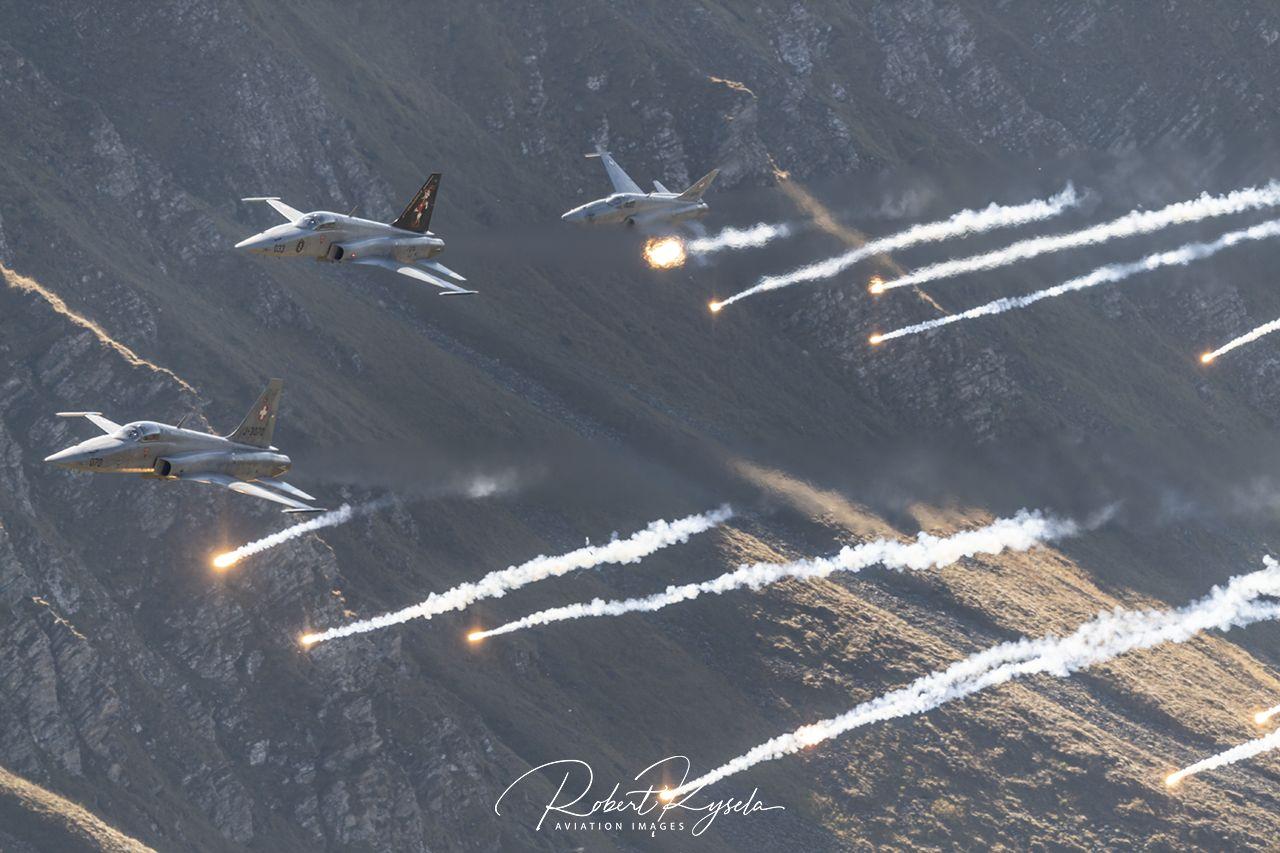 Northrop F-5E TIGER II  -  © by Robert Kysela