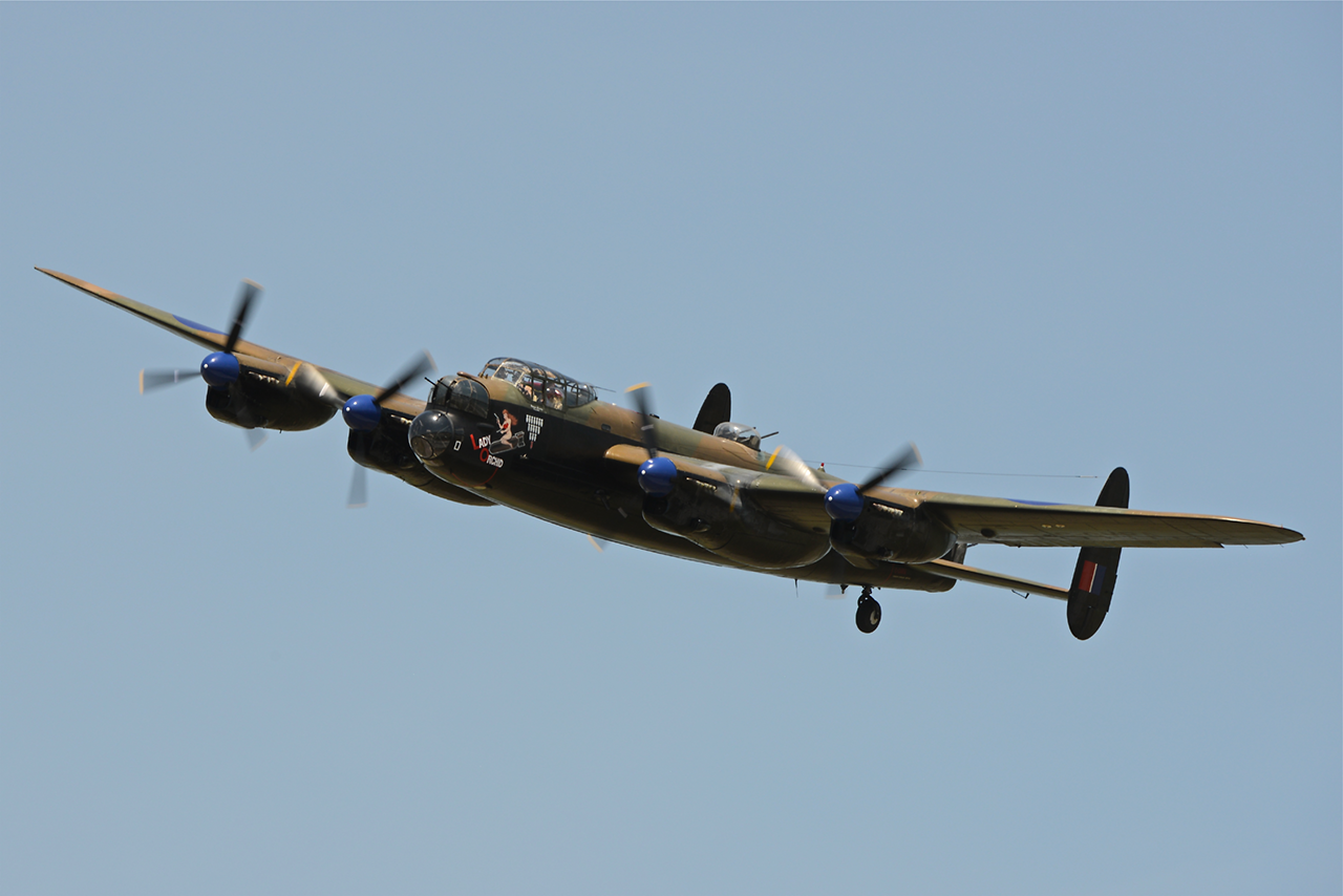 AVRO Lancaster Mk X  -  © by Shawn Clish