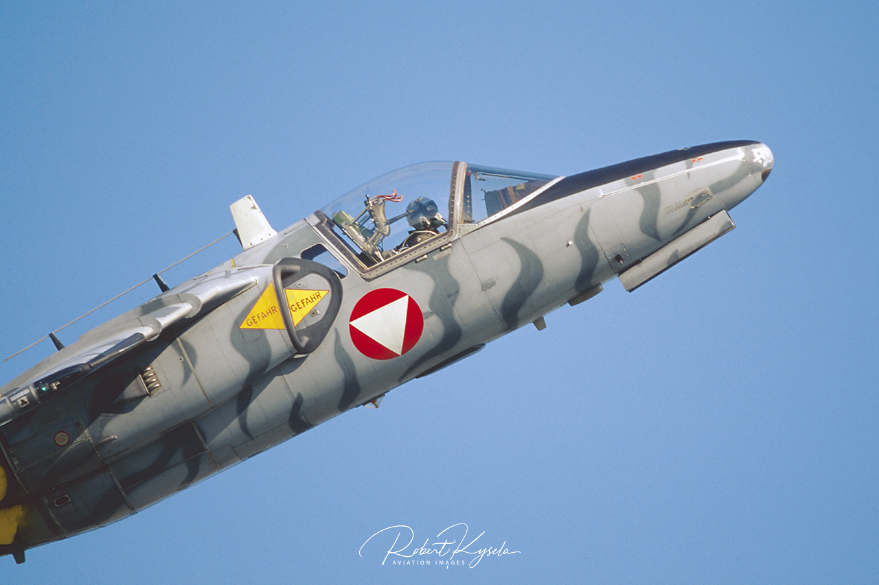 Saab 105Oe  -  © by Robert Kysela