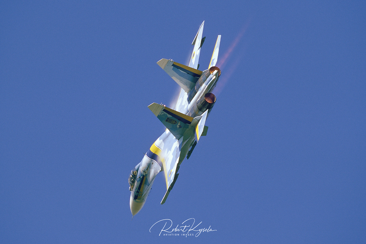 Sukhoi Su-27P1M (NATO Code: FLANKER B )  -  © by Robert Kysela