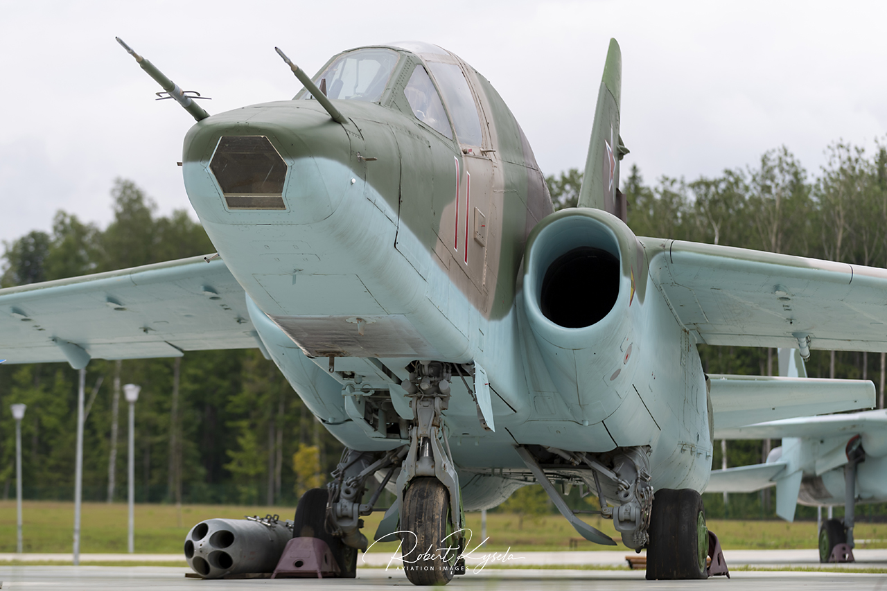 Sukhloi Su-25T (NATO Code: FROGFOOT)   - © by Robert Kysela