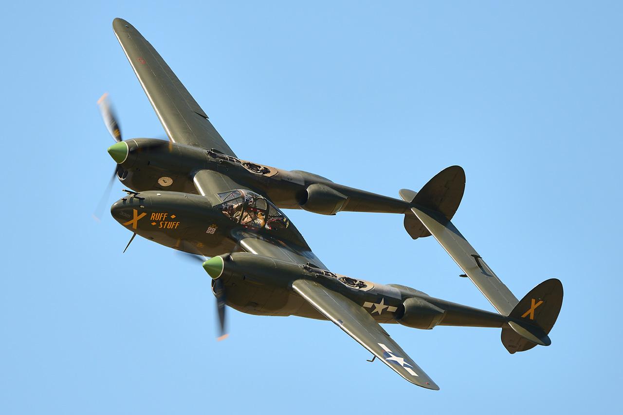 Lockheed P-38L LIGHTNING  -  © by Shawn Clish 2012