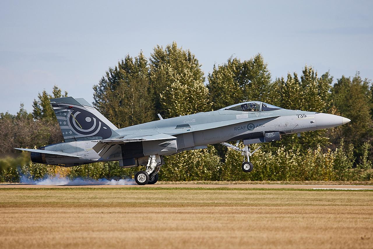 Boeing CF-188 HORNET  -  © by Shawn Clish