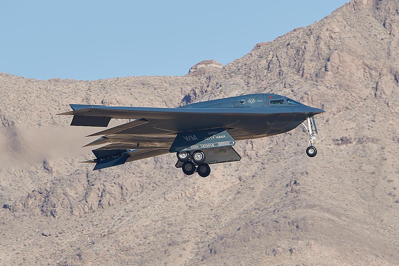 Northrop B-2A SPIRIT  -  © by Shawn Clish
