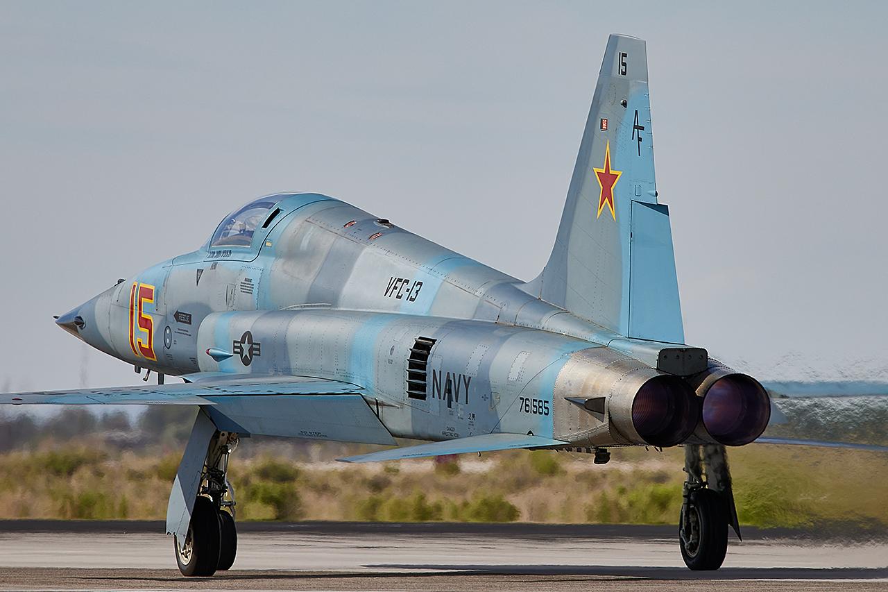 Northrop F-5E TIGER II  -  © by Shawn Clish