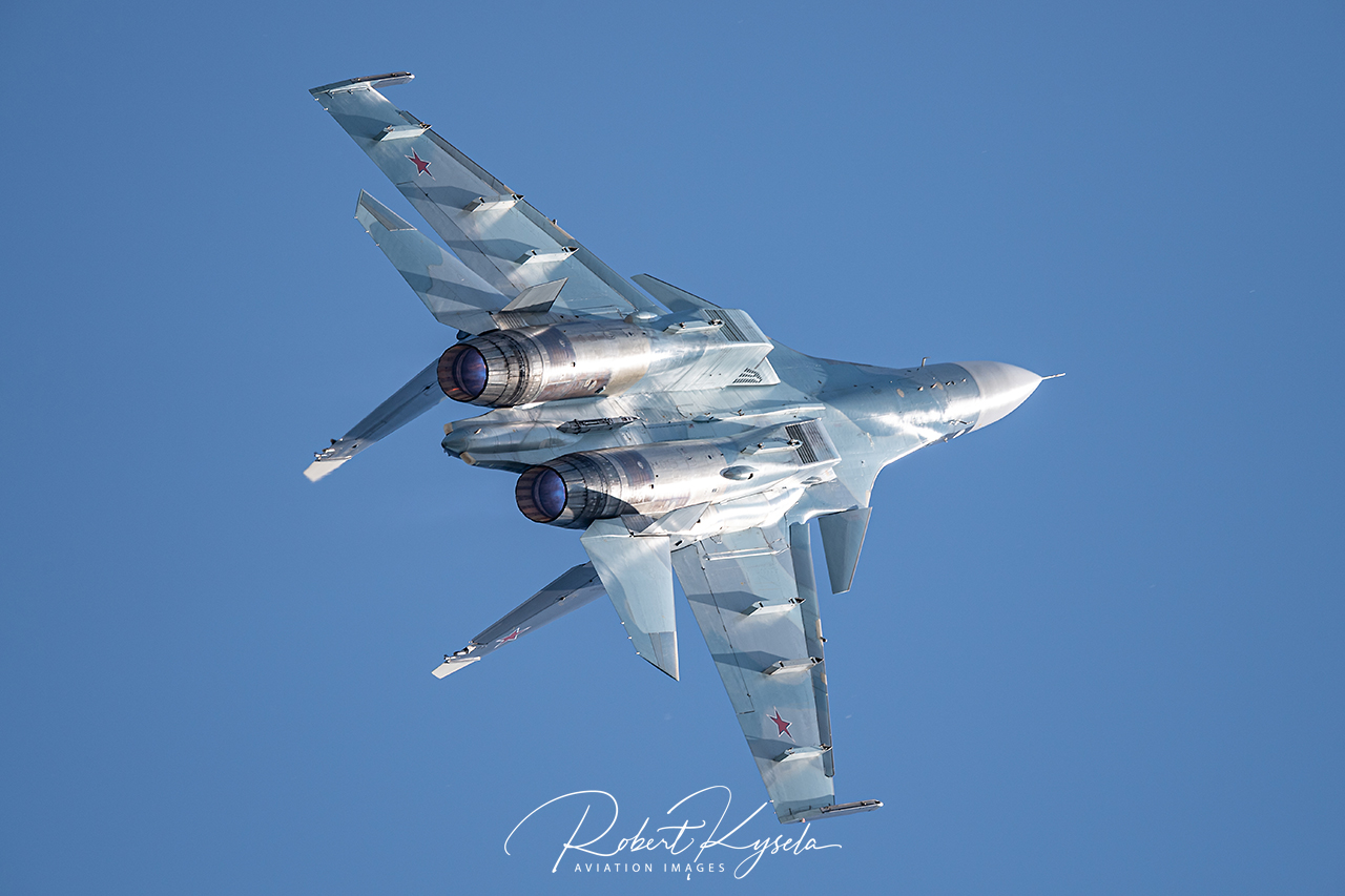 Sukhoi Su-30SM ( NATO Code: Flanker H) -  © by Robert Kysela